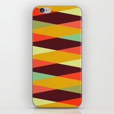 multicolor diamond pattern iPhone & iPod Skin