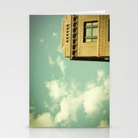 Green Skies Stationery Cards