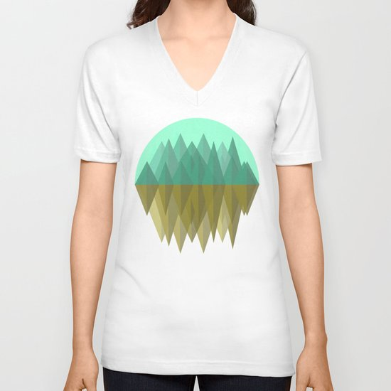 Rocks rock V-neck T-shirt