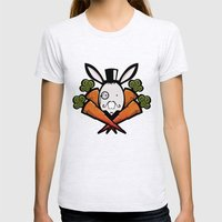 teh bunny Womens Fitted Tee Ash Grey SMALL