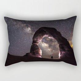 Rectangular Pillow - Watching stars - Kristina Jovanova