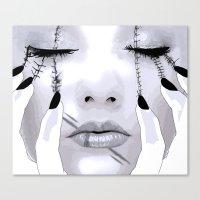 Claws Canvas Print