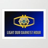 Transformers: Generation 1: Light Our Darkest Hour Art Print
