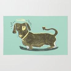 Bad Dog! (The Little Dachshund That Didn't) Rug