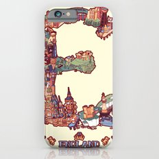 E is for England iPhone 6 Slim Case