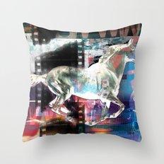 horse 02 Throw Pillow