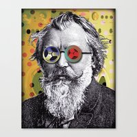 Brahms In Reel To Reel G… Canvas Print