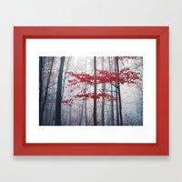 Woodland Fantasy Framed Art Print