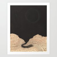 Art Print featuring The Sheltering Sky by Heather Goodwind