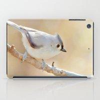 Sunlit Titmouse iPad Case