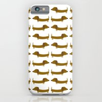 The Essential Patterns of Childhood - Dog iPhone 6 Slim Case