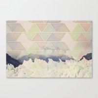 Geometric Alaska Canvas Print