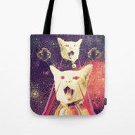 Galactic Cats Saga 4 Tote Bag