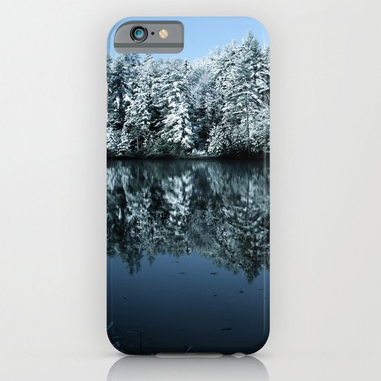 Winter Reflected iPhone & iPod Case