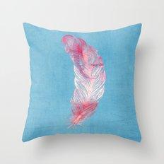 Feather. Throw Pillow
