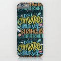 DON'T COMPARE YOURSELF TO STRANGERS ON THE INTERNET iPhone & iPod Case