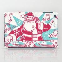 Funky Santa iPad Case
