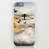 iPhone Cases featuring salute the morning by John Magnet Bell