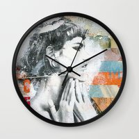 Ces Belles Mains Wall Clock