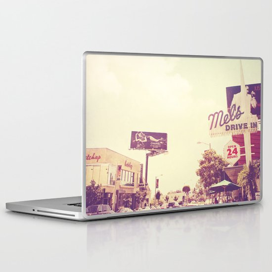 Ketchup. West Hollywood Los Angeles photograph Laptop & iPad Skin