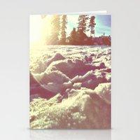 Ski Lodge Days Stationery Cards