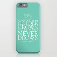 iPhone & iPod Case featuring My Golden Crown by Ivory Grand