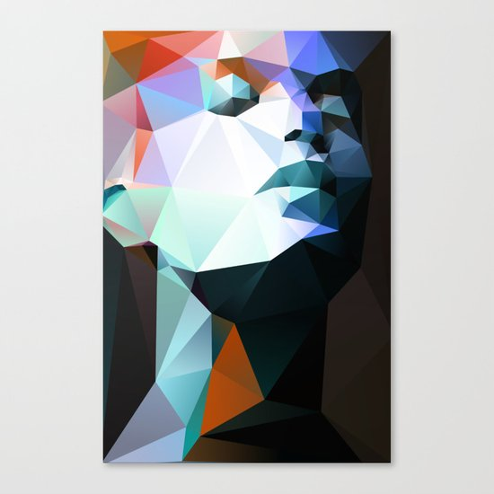 Wild For The Night 01 Canvas Print By Three Of The