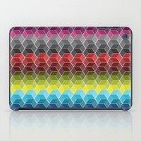 Hexagon Shades / Pattern… iPad Case
