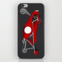 Race Motorcycle iPhone & iPod Skin