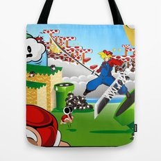 WHAT IF ..aka mushroom kingdom. Tote Bag