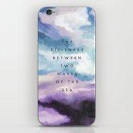 Stillness [Collaboration… iPhone & iPod Skin