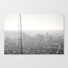 Approach from the North Canvas Print