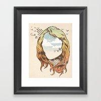 Imaginario Framed Art Print