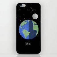 Explore the World iPhone & iPod Skin