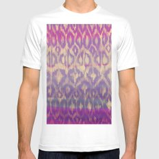 Ikat2 White Mens Fitted Tee SMALL