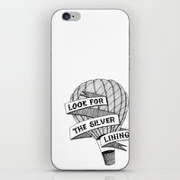 Look For The Silver Lini… iPhone & iPod Skin