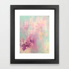Serene Nebula Framed Art Print