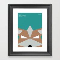 Poster Nintendo Star Fox Framed Art Print