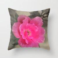 Pink Me Throw Pillow