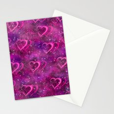 Pink Haze Stationery Cards