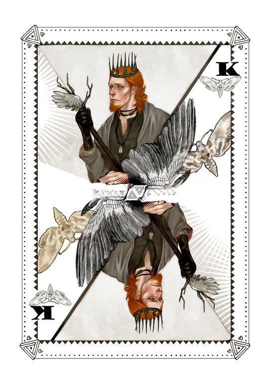 King of Wings Art Print