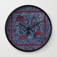 Sensory Overload Americana  Wall Clock