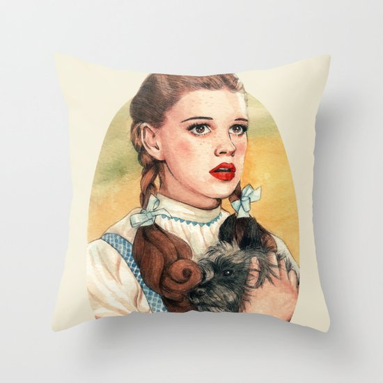 I Don't Think We're In Kansas Anymore Throw Pillow