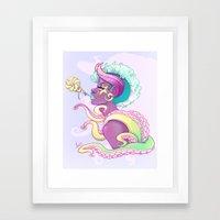 Monique (Tenta-Lolli 3) Framed Art Print