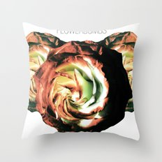 Flowerbombs Throw Pillow
