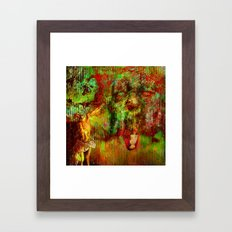 Liberation Of The Evil Spirit (With Ganech Joe) Framed Art Print