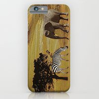 Abstract Africa iPhone 6 Slim Case