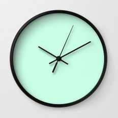 Aero Blue Wall Clock