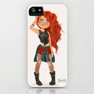 Modern AU: Merida iPhone (5, 5s) Slim Case