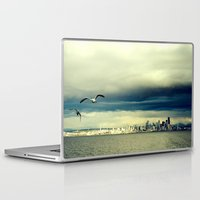 seattle Laptop & iPad Skins featuring Seattle by FrancisDelapena.com